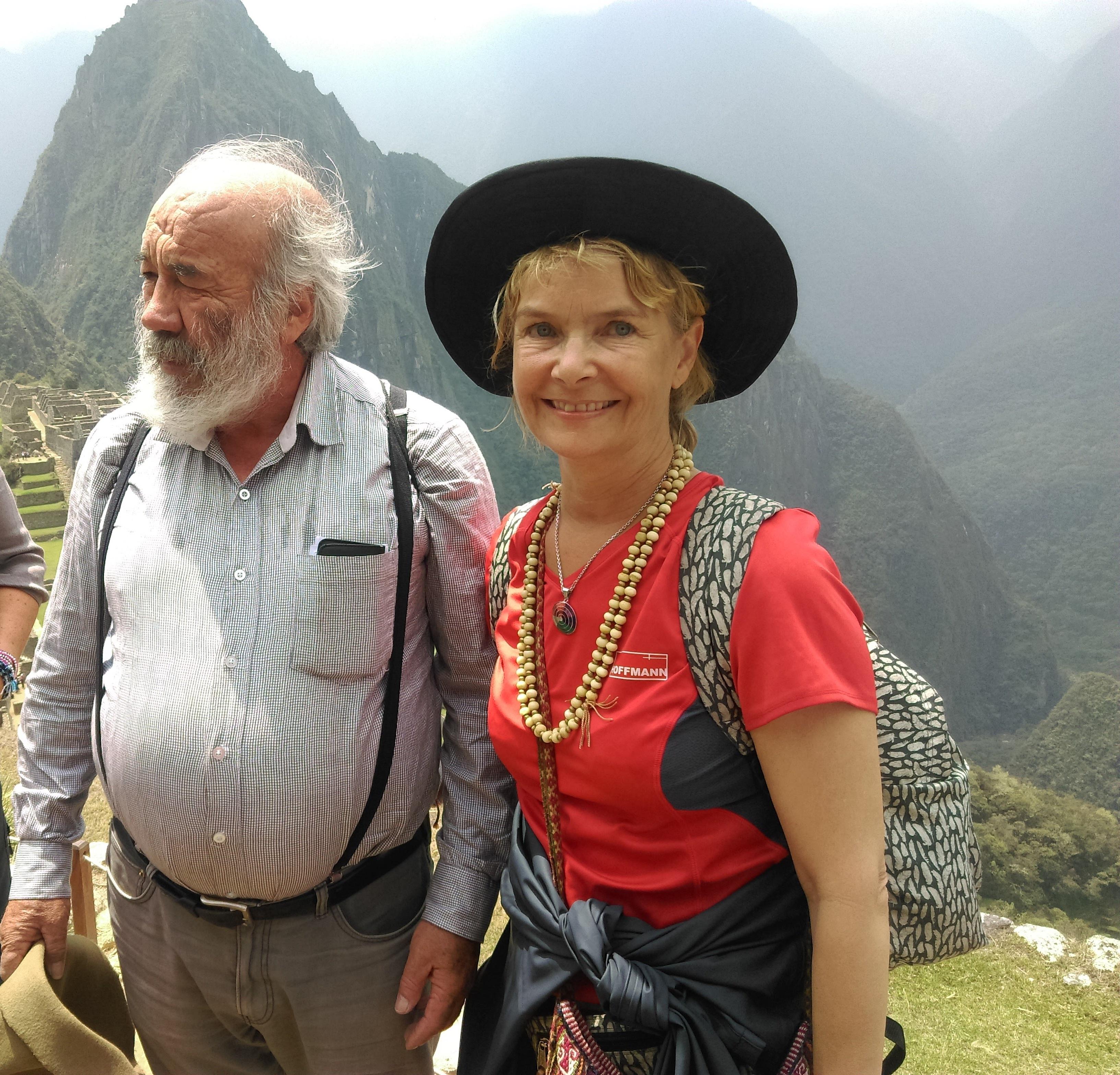 Juan Nuñez del Prado og Esther Økær