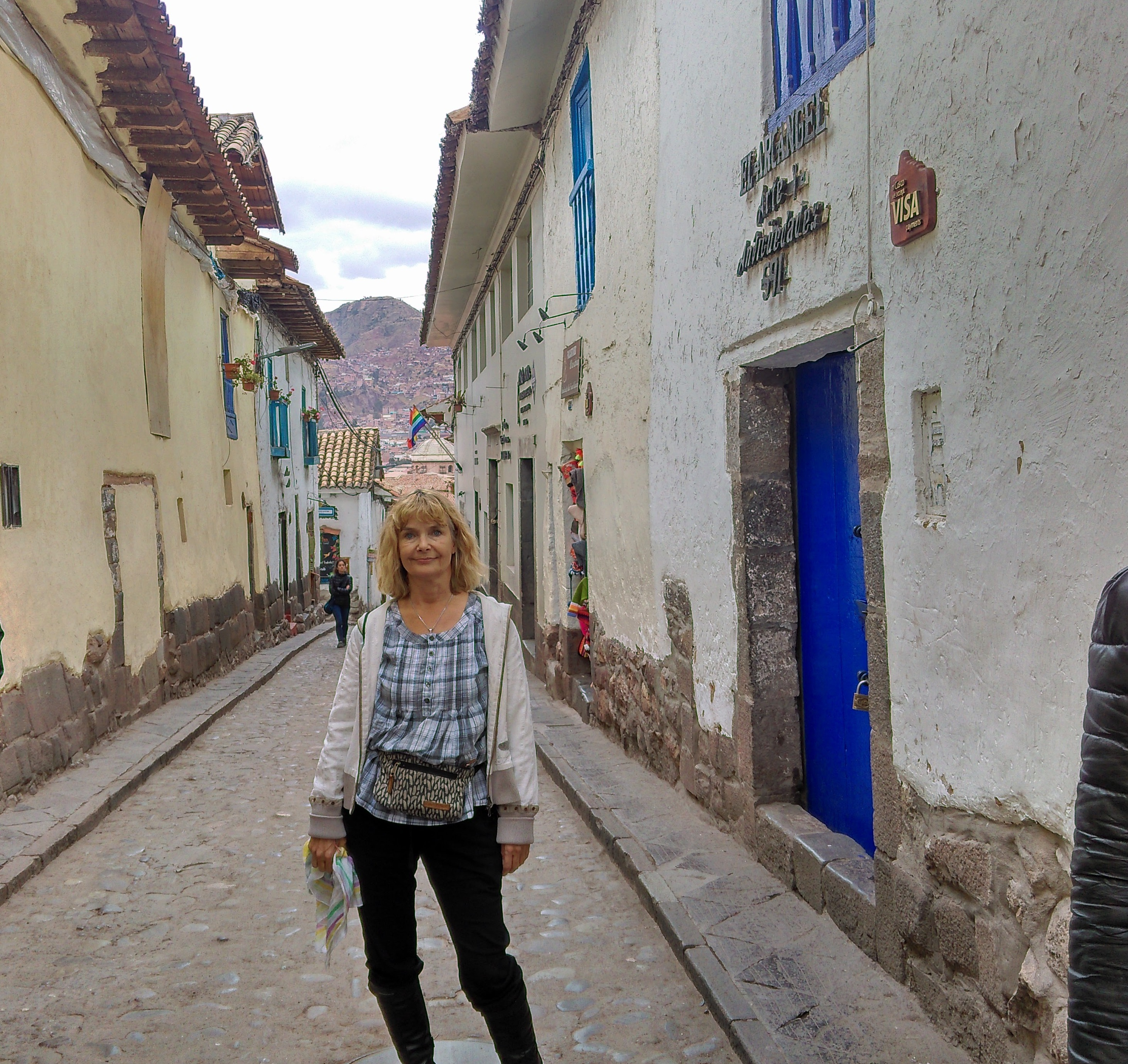 Narrow streets of Cusco